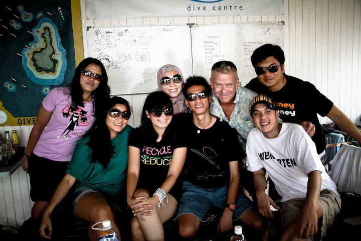 Dila group, frequent divers